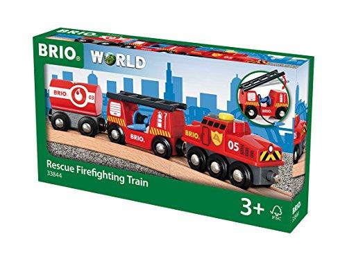 BRIO Feuerwehr-Löschzug