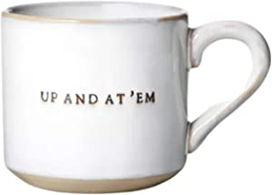 'Up And At 'Em' Stoneware Mug - Hearth & Hand with Magnolia