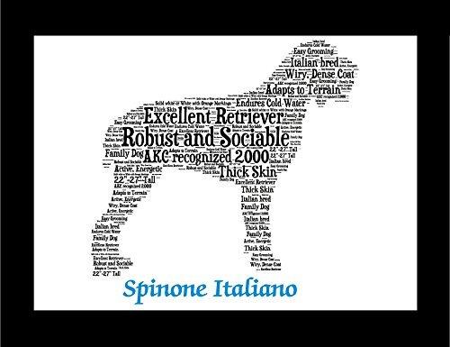 Spinone Italiano | Personalize | Custom | Print | Art | Dog Art | Gift | Wall Decor | Memorial (Gift Italiano)