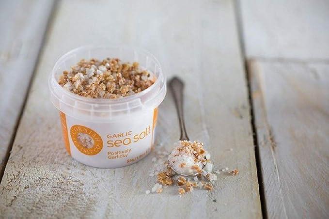 Sal de mar de Cornualles - Ajo tostado puro y natural