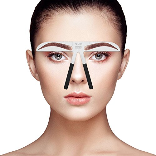 Professional Eyebrow Stencil Ruler For Eyebrows Measuring Permanent Makeup...