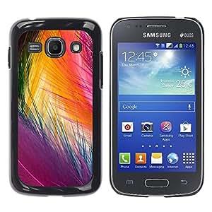 TopCaseStore / la caja del caucho duro de la cubierta de protección de la piel - Easter Bird Vibrant Colors Purple - Samsung Galaxy Ace 3 GT-S7270 GT-S7275 GT-S7272