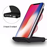 Best Charging Pad With USBs - iPhoneX Wireless Charger Support Wireless/Wired Charging, 2-in-1 QI Review