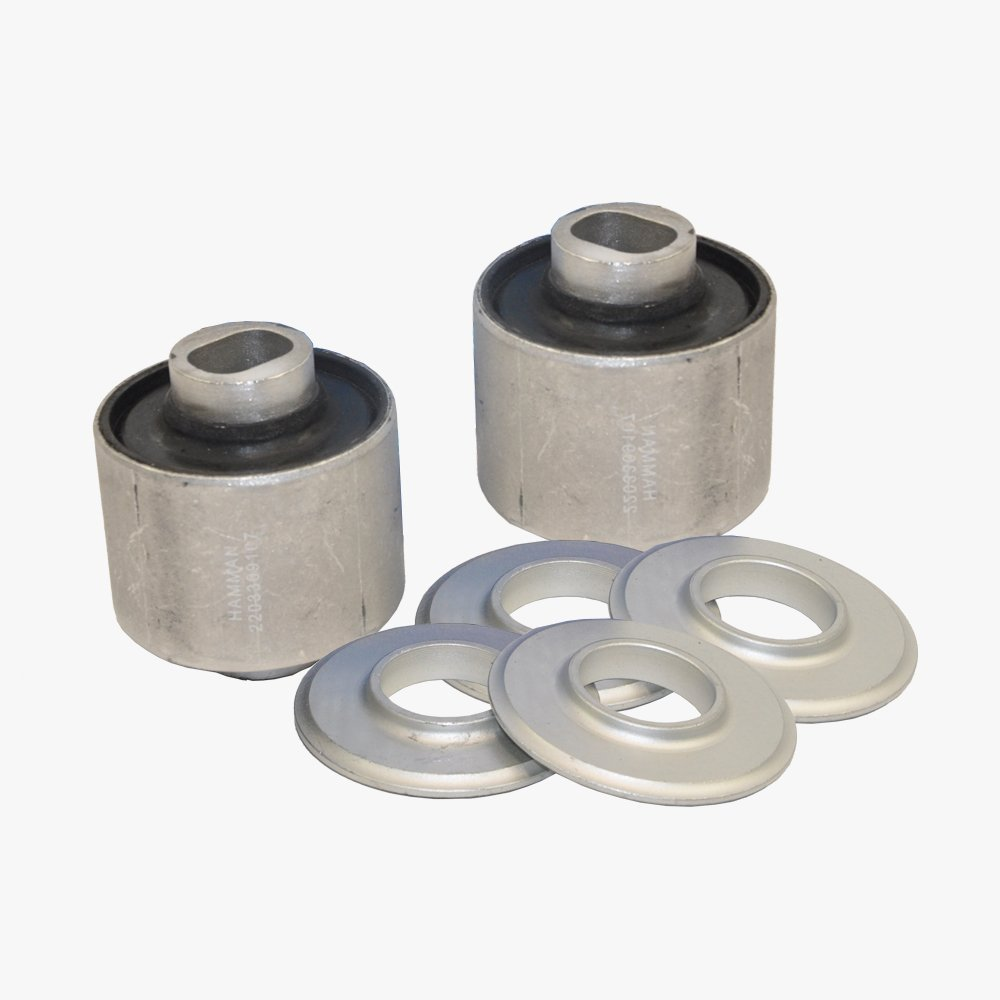 Mercedes-Benz Front Lower Control Arm Bushing Kit Premium Quality 2209107 (2pcs) KOOLMAN  PRODUCTS PR 220-330-91-07 x2pcs