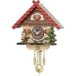 Trenkle Kuckulino Black Forest Clock with quartz movement and cuckoo chime TU 2057 PQ