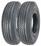 2 New ZEEMAX Heavy Duty Trailer Tires ST225/90D16 /7.50-16 10 PR Load Range E - 11070