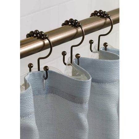 Better Homes and Gardens Rollerball Shower Curtain Hooks from Better Homes & Gardens