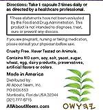 Neem Leaf Capsules 1,500 mg Each Capsule American