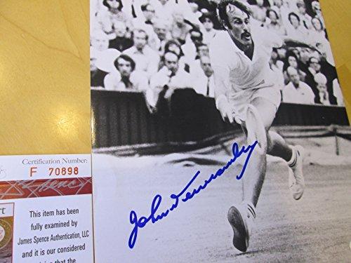 (JOHN NEWCOMBE Signed Signed 8