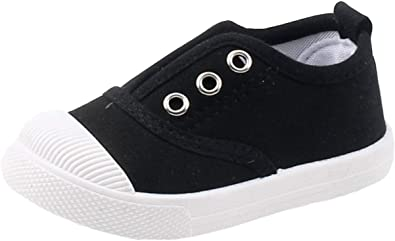 Candy Color Canvas Slip-On