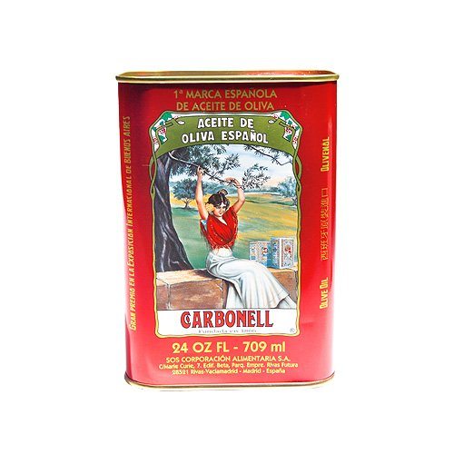 UPC 078336809529, Carbonell Pure Olive Oil 24 oz Tin