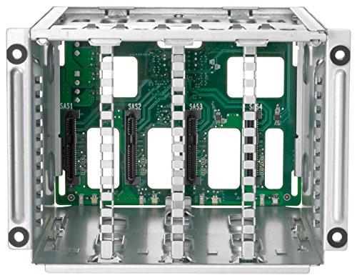 HEWLETT PACKARD Enterprise 822608-B21 HPE ML30 Gen9 4 Large Form Factor Hot Plug Hard Drive Cage Kit from HEWLETT PACKARD
