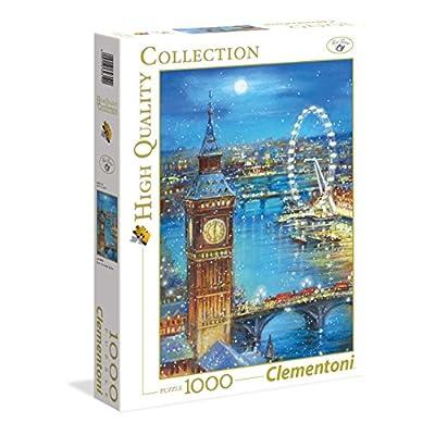 Clementoni 998703 Cm Fiocchi Di Neve In Big Ben Collezione Alta Qualit Puzzle Pezzi