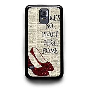 No Place Like Home the Wizard of Oz Custom Case for Samsung Galaxy S3/ S4/ S5 (black samsung galaxy S5)