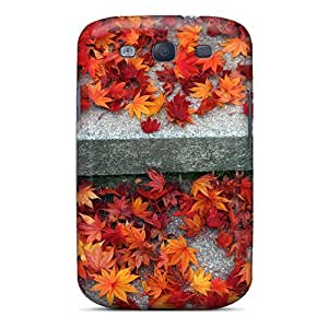 Anti-scratch And Shatterproof Maple Leaf Phone Cases For Galaxy S3/ High Quality Tpu Cases