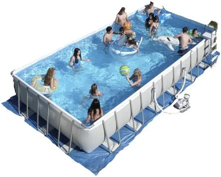 Intex Ultra Frame 32-by-16-foot-by-52-inch de piscina, rectangular: Amazon.es: Jardín