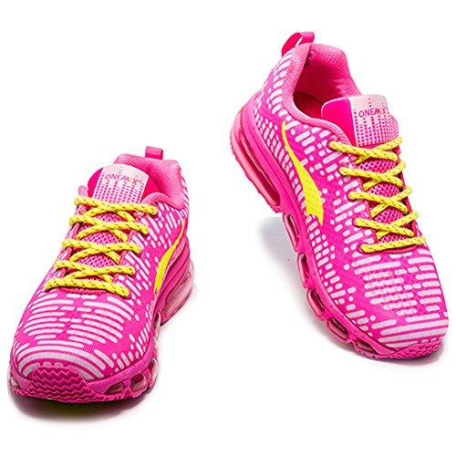 Donna Onemix Scarpe Unisex Corsa Fitness Ginnastica Da Air Rosa Uomo Sportive Sneakers Running Adulto gHqxrgw