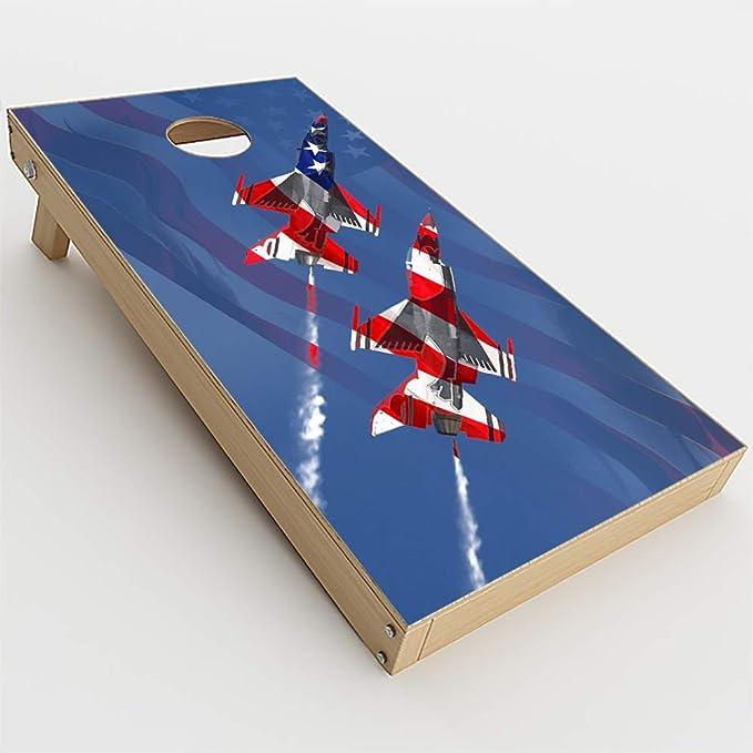 Florida Gators Cornhole Wrap NCAA Game Board Skin Vinyl Decal Wood Set CO737