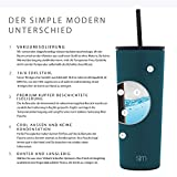 Simple Modern 24oz Classic Tumbler with Straw Lid & Flip Lid - Travel Mug Gift Vacuum Insulated Coffee Beer Pint Cup - 18/8 Stainless Steel Water Bottle -Riptide