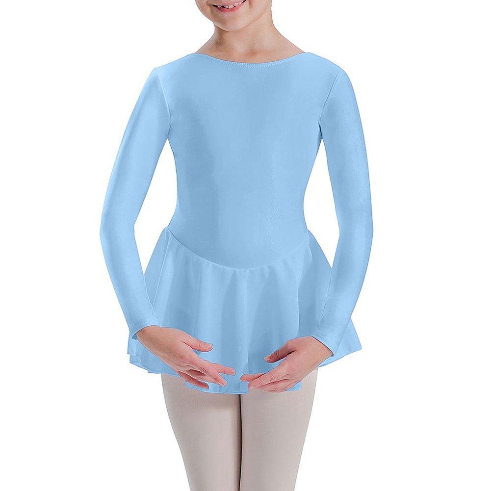 2a8d6aedf Amazon.com   Motionwear Long Sleeve Skirted Comfort Dancer Leotard ...