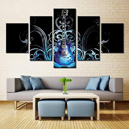 Premium calidad lienzo impreso de pared Art Póster 5 piezas/5 Pannel ...