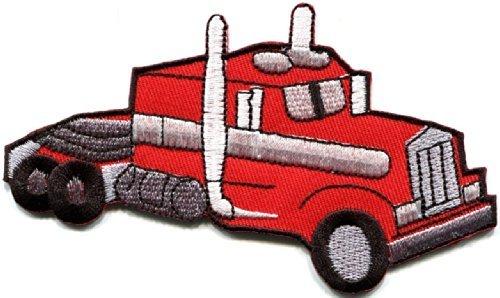 (Transfer Truck Trucking Trucker Cb Convoy Retro Applique Iron-on Patch New S-364)