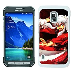 Unique Samsung Galaxy S5 Active Cover Case ,Hot Sale And Popular Designed Case With InuYasha 7 White Samsung Galaxy S5 Active Case Unique And Cool Phone Case
