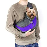 Pet Sling Carrier, Coopts Small Dog Cat Carrier Sling Hands-Free Pet Outdoor Travel