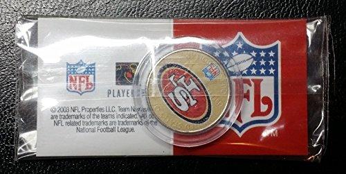 Unbranded SAN FRANCISCO 49ERS NFL U.S. STATEHOOD QUARTER COLORIZED COINLICENSED