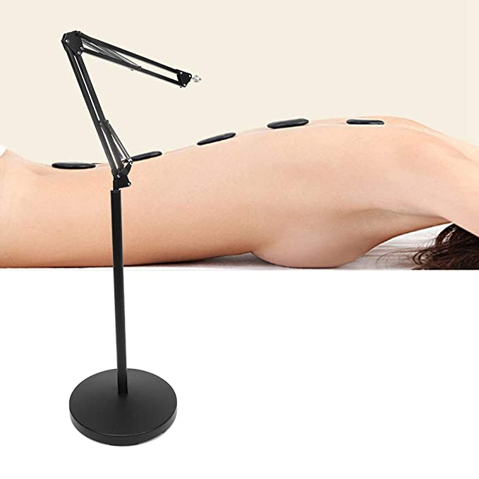 Sturdy and Stable Rotatable Folding Moxa Support Fixed Bracket Holder Height Adjustable Suspended Moxibustion Frame Convenient and Practical to Use