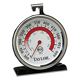 Taylor Precision Products Classic Series Large Dial Thermometer (Oven)