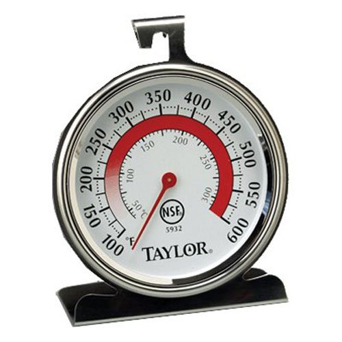Taylor Precision Products Classic Series Large Dial Thermometer (Oven) (Small Oven Thermometer compare prices)
