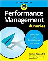 Performance Management For Dummies Cover