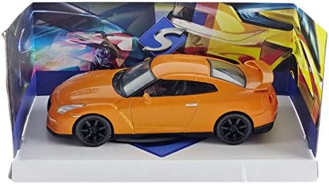 "Solido 421436180"" Nissan GTR Fahrzeug, Orange"