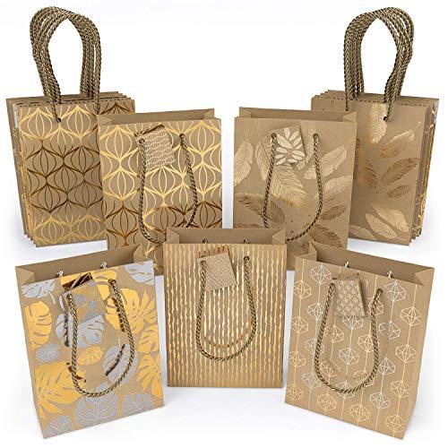 Foil Christmas Gift - ARTEZA Gift Bags 9.5
