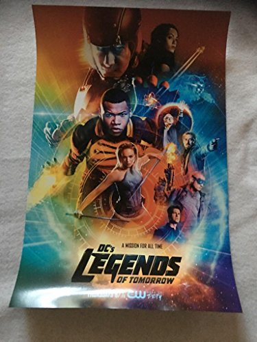 Dc's Legends Of Tomorrow Original Promo TV Poster 2017 Rare Cw