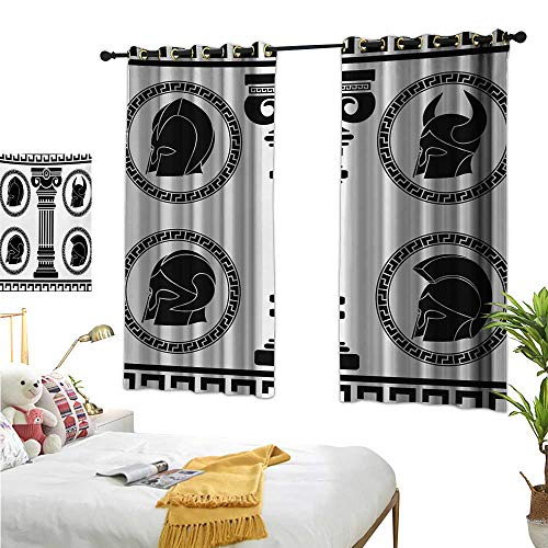 Superlucky Drapes for Living Room,Toga Party,55