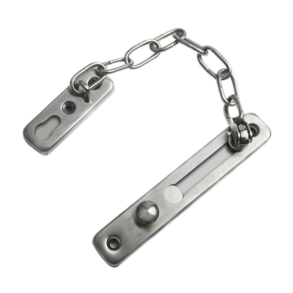 LYCOS3 Door Security Chains,Door Chain,Front Door Limiter,External Door Restrictor, Unique Narrow Design to Fit All Door Types & Sizes,Secure & Reliable Door Chain for Safer Caller Identification