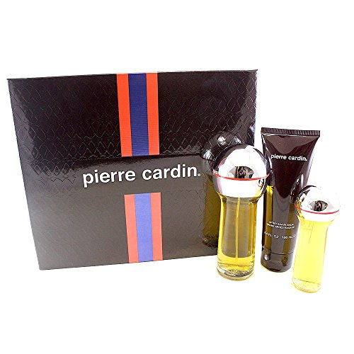 Pierre Cardin for Men Gift Set (Eau de Toilette Spray, Eau de Toilette Spray, After Shave Balm)