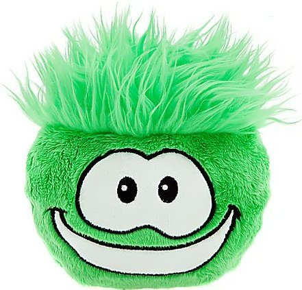 (Disney Club Penguin 6 Inch DELUXE Plush Puffle Green [Includes Coin with Code!] )