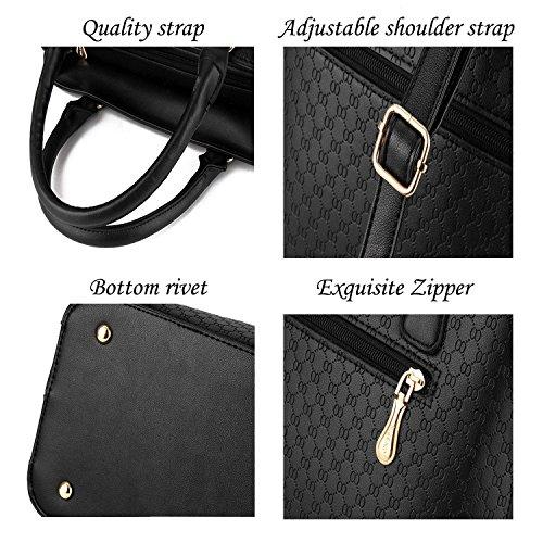Vincico - Bolso mochila  de Material Sintético para mujer negro negro Azul