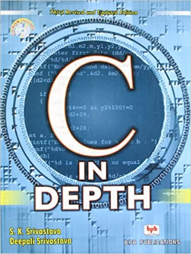 Buy C in Depth Book Online at Low Prices in India | C in