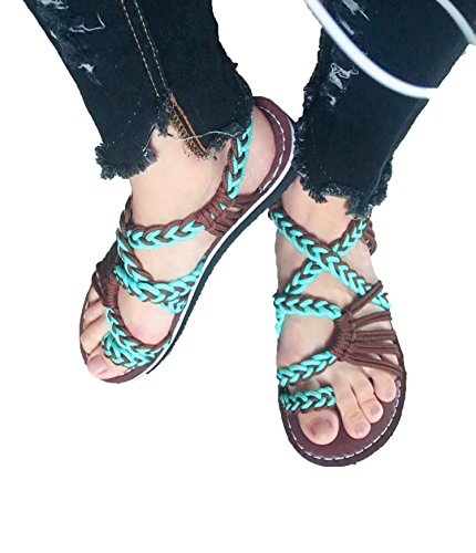 Sky-Pegasus Women New Summer Shoes Slippers Female Fashion Shoes Beach Sandals Shoes Slippers Sandals,Green,7