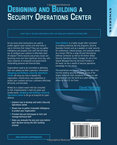 Designing and building security operations center amazon david designing and building security operations center amazon david nathans libros en idiomas extranjeros malvernweather Gallery