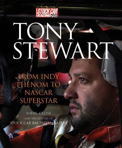 Tony Stewart Cover (Tony Stewart: From Indy Phenom to NASCAR Superstar Paperback August 14, 2004)
