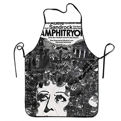 JONHBKD Gunter Rambow Amphltryon Chef Kitchen Cooking and Baking Bib Apron for Women and Men]()