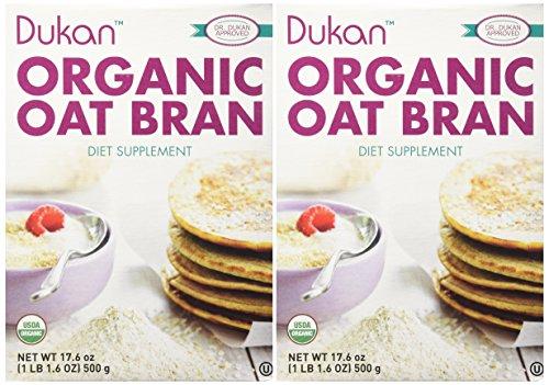 Dukan Diet, Natural Oat Bran, 17.6 oz (500 g) - 2pc