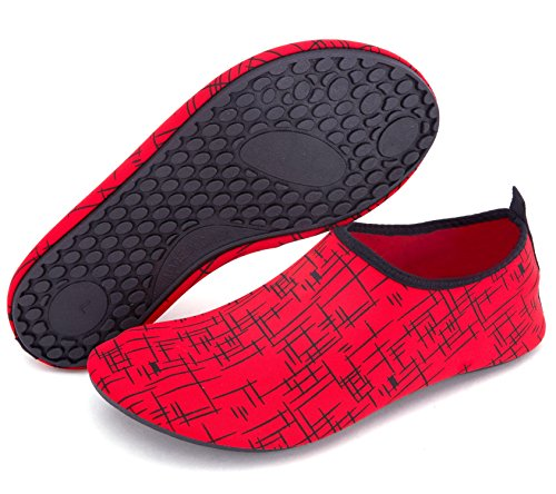 red Non Quick Women Kids Slip for Dry Barefoot Shoes Swim Giotto T Men Water wY6Ofq1