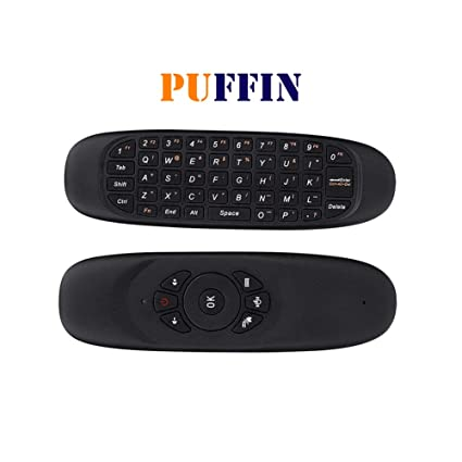 Buy PuffinTM Wireless Keyboard with Mouse, Remote Control