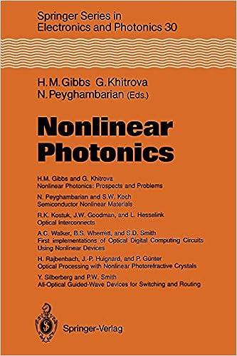 Nonlinear Photonics